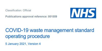 Waste management COVID-19 guidance